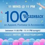 Firstcry 100% Cashback – For 11 Minutes @ 11 PM Today