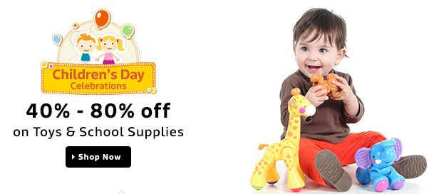 Flipkart Childrens Day