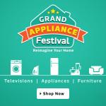 Flipkart Grand Appliance Festival – Reimagine your Home