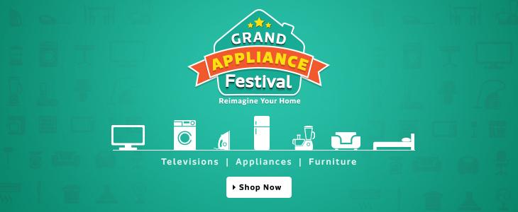 Flipkart Grand Appliances Festival Reimagine your Home