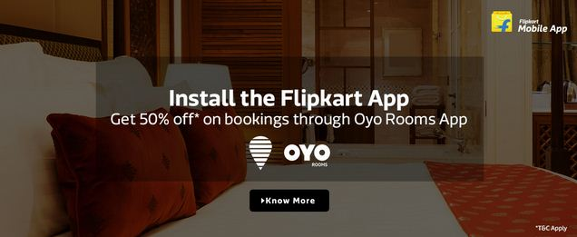 Flipkart Oyo Rooms Offer