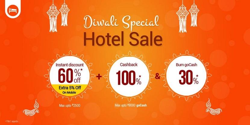 Goibibo Diwali Hotel Sale