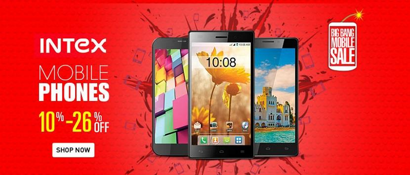 HomeShop18 Mobile Clearance Sale Intex