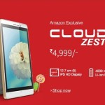 Intex Cloud Zest available at Rs. 4999 on Amazon