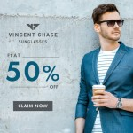 Lenskart Offer – Flat 50% OFF on Vincent Chase