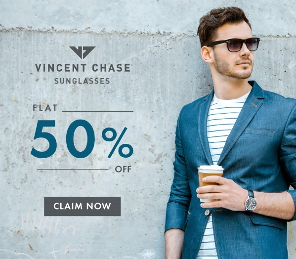 Lenskart Offer flat50 Vincent Chase