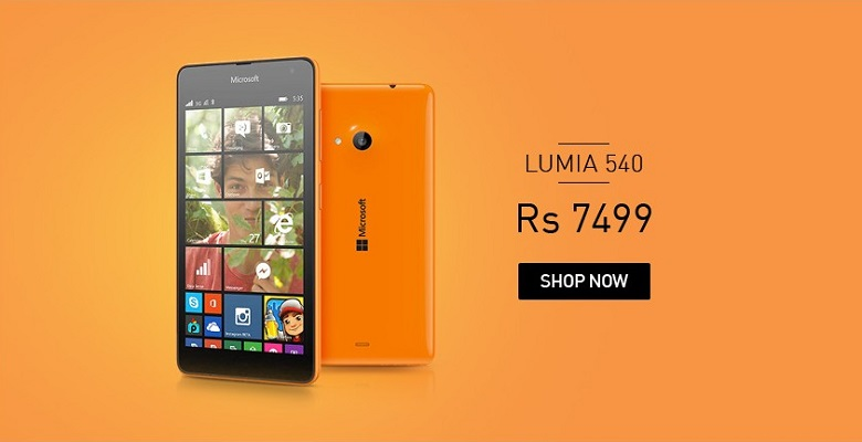 Microsoft Lumia 540 Price Slashed