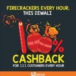 Mobikwik FireCrackers Every Hour – 100% Cashback
