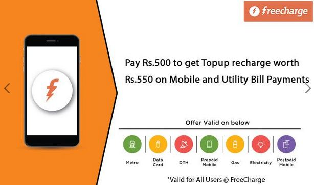 Nearbuy Freecharge offer April