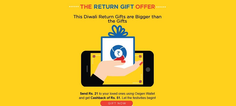 Oxigen Wallet Return Gift Offer