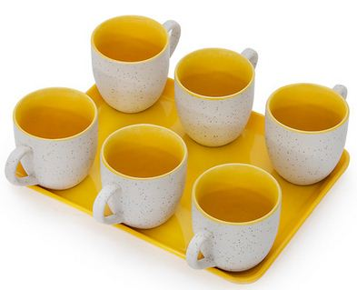 Pepperfry Somny cups set of 7
