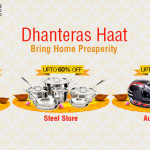 Shopclues Dhanteras Sale – Upto 60% off on Steel Store and Automotive