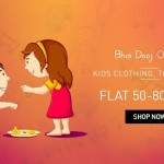 Snapdeal Bhai Dooj Offers – Flat 50% OFF on Kids Fashion and Accessories