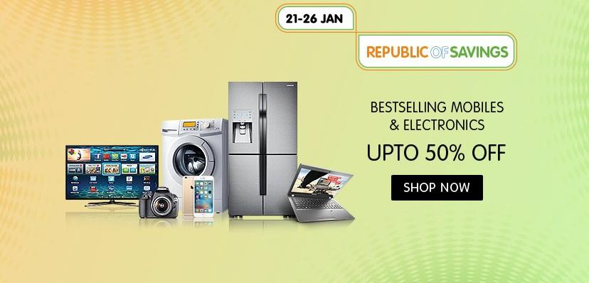 Snapdeal Electronics Mall Republic Day