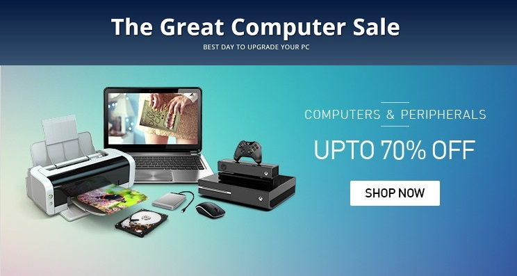 Snapdeal Great Computer Sale