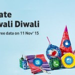 Vodafone Diwali Offer – Celebrate Datawali Diwali with Free 100 MB Internet Data