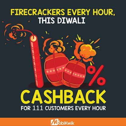 mobikwik firecrackers this diwali
