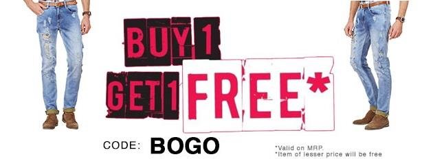 American Swan Buy 1 Get 1 Free on Jeans and Denims