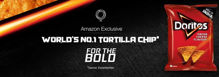 Doritos Tortilla Chip Now Launched on Amazon