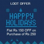 Ebay Loot Offer – Get Rs.150 off Coupon on Rs. 250
