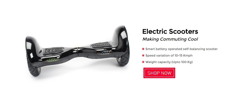 Electric Scooters on Snapdeal