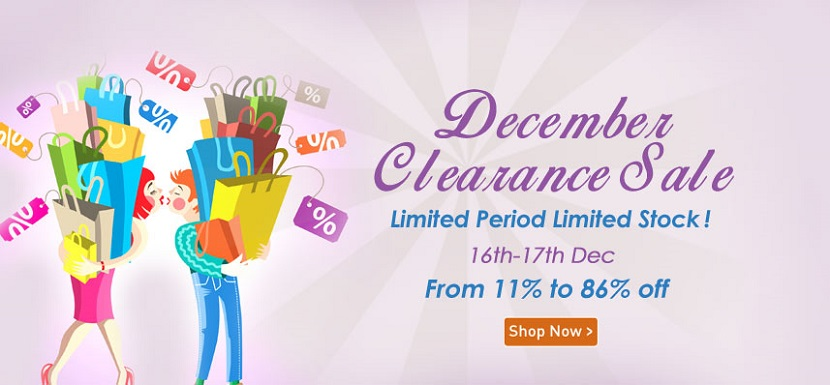 HomeShop18 December Clearance Sale