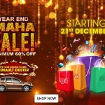 HomeShop18 Year End Maha Sale – Win Renault Duster