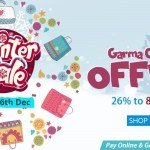 Homeshop18 Winter Sale – Upto 83% OFF (4th – 6th Dec.)
