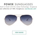 Lenskart Power Sunglasses Offer – Extra 50% OFF on Cart