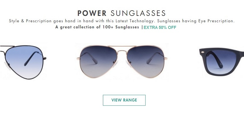 Lenskart Power Sunglasses Offer