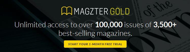 Magzter Gold Magazines free