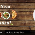 New Year Food Bonanza – Upto 100% Cashback on Paytm