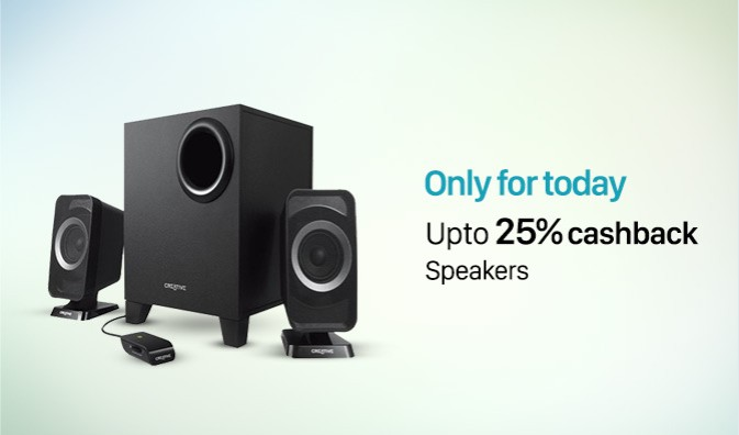 Paytm Cashback Offer Computer Speakers