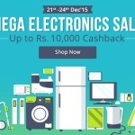 Paytm Mega Electronics Sale – Up to Rs.10,000 Cashback
