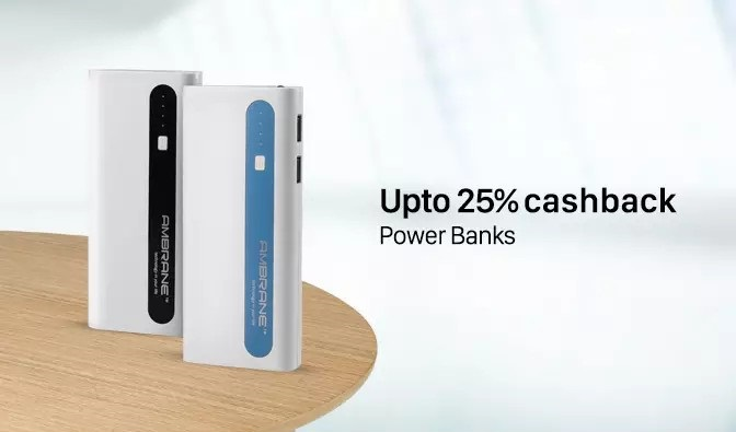 Paytm Power Banks Promo Code Mega Electronics Sale PB25