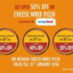 Pizza Hut Cheese Maxx Pizza Voucher – Upto 30% OFF Only for Today