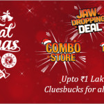 Shopclues Big Fat Christmas Sale – Upto 1 Lakh Free Cluesbucks