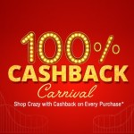 Shopclues Cashback Carnival – Get 100% Cashback
