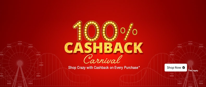 Shopclues Cashback Carnival Sale