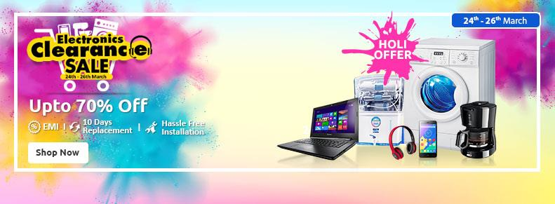 Shopclues Electronics Clearance Sale 24 march