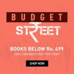 Snapdeal Budget Street – Books Below Rs.499 + 100% Cashback