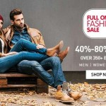 Snapdeal Full on Fashion Sale – 40% – 80% OFF