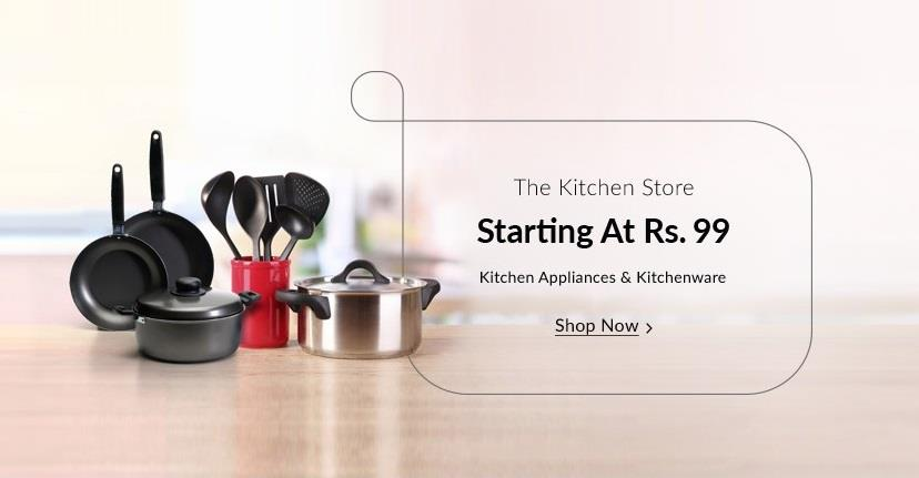 Snapdeal Kitchen Store Starting at Rs 99