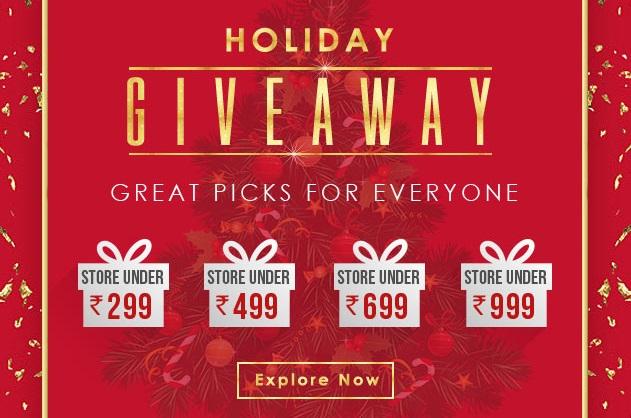 Yepme Holiday Giveaway Sale