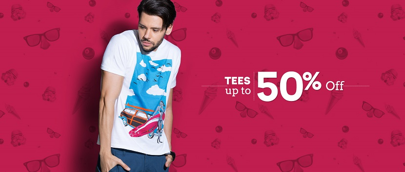 Zovi Tees Offers Upto 50 Percent OFF