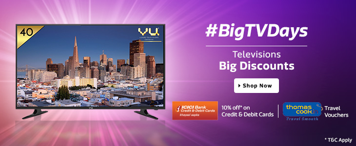 Flipkart Big TV Days Sale