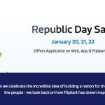 Flipkart Republic Day Sale : 20th – 22nd January – Offers on Web & App