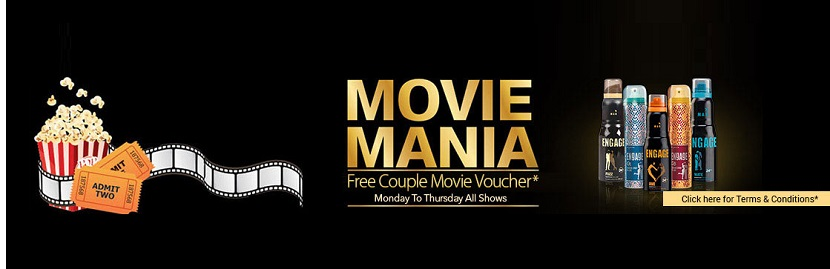 Free Couple Movie Voucher With Engage Deo Combo