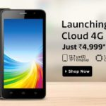 Intex Cloud 4G Smart available on Flipkart at Rs.4499