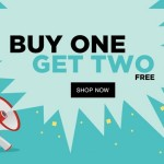 Jabong Buy One Get Two FREE Sale – Starts @Rs.999